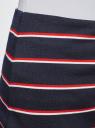 Юбка прямая в полоску oodji для женщины (синий), 24101048-3B/37809/7945S
