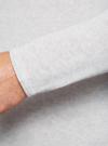 Джемпер базовый из хлопка oodji #SECTION_NAME# (серый), 4L112171M/21702N/2000M - вид 5