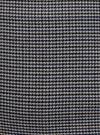 Юбка-трапеция короткая oodji #SECTION_NAME# (серый), 11600413-4/45930/1229G - вид 5