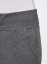 Комплект трикотажных брюк (2 пары) oodji #SECTION_NAME# (серый), 16700030-15T2/47906/2500M - вид 5