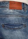Джинсы slim базовые oodji для мужчины (синий), 6L100018M/46627/7500W