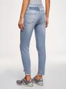 Рваные джинсы skinny  oodji #SECTION_NAME# (синий), 12103151-1/45379/7000W - вид 3