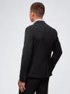 Пиджак базовый приталенный oodji #SECTION_NAME# (черный), 2B420019M/44320N/2900N - вид 3