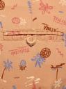 Брюки-чиносы с ремнем oodji #SECTION_NAME# (розовый), 11706193B/42841/4380O - вид 5