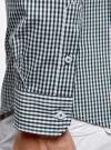 Рубашка extra slim в мелкую клетку oodji #SECTION_NAME# (зеленый), 3B140003M/39767N/1069C - вид 5
