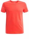 Футболка мужская oodji #SECTION_NAME# (оранжевый), 5B621002M/44135N/5500N