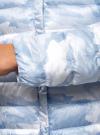 Куртка стеганая с круглым вырезом oodji #SECTION_NAME# (синий), 10204040-1B/42257/7080O - вид 5
