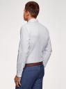 Рубашка из хлопка принтованная oodji #SECTION_NAME# (белый), 3L110311M/47778N/1079O - вид 3