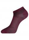 Комплект из трех пар носков oodji для женщины (разноцветный), 57102433-1T3/48022/6 - вид 3