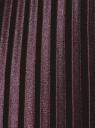 Юбка плиссе удлиненная oodji #SECTION_NAME# (фиолетовый), 21606020-4/48764/8800N - вид 5