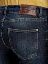 Джинсы skinny базовые oodji для женщины (синий), 12103136/45369/7900W