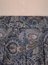 Юбка расклешенная со встречными складками oodji #SECTION_NAME# (синий), 11600396-2/45559/7533E - вид 5