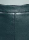 Юбка прямая из искусственной кожи oodji для женщины (зеленый), 18H01003/46989/6C00N