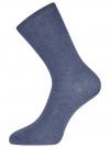Комплект высоких носков (3 пары) oodji #SECTION_NAME# (разноцветный), 57102902T3/47469/43 - вид 3