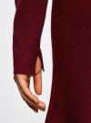 Платье вязаное с расклешенным низом oodji для женщины (красный), 63912223/46096/4900N - вид 5