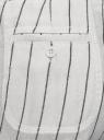 Шорты льняные на завязках oodji для женщины (белый), 21801028/16009/1279S