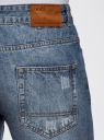 Шорты джинсовые с потертостями oodji #SECTION_NAME# (синий), 6B220013M/35771/7400W - вид 5