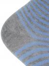 Носки укороченные базовые oodji #SECTION_NAME# (серый), 57102418B/47469/2070S - вид 4