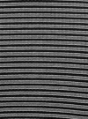 Юбка в рубчик на резинке oodji #SECTION_NAME# (серый), 14101086/46502/2529S - вид 5