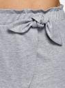 Пижама хлопковая с принтом oodji #SECTION_NAME# (розовый), 56002230/46154/4020P - вид 5