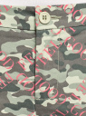 Брюки-чиносы хлопковые oodji для женщины (зеленый), 11706193B/42841/6641O