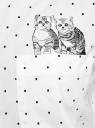 Рубашка хлопковая с вышивкой oodji для женщины (белый), 13K11021-2/49387/1029D