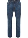 Джинсы базовые прямые oodji для мужчины (синий), 6B130040M/50760/7900W