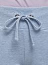 Брюки трикотажные спортивные oodji для женщины (синий), 16700030-5B/46173/7001M