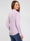 Рубашка приталенная с нагрудными карманами oodji #SECTION_NAME# (фиолетовый), 11403222-4/46440/8010S - вид 3