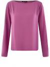 Блузка вискозная базовая oodji #SECTION_NAME# (фиолетовый), 11411135-3B/26346/4C00N