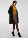 Кардиган с накладными карманами без застежки oodji #SECTION_NAME# (черный), 63212590/18941/2900N - вид 6