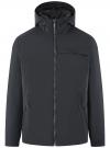 Куртка на молнии с капюшоном oodji #SECTION_NAME# (синий), 1L515017M/46215N/7929N