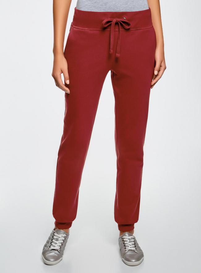 Комплект трикотажных брюк (2 пары) oodji #SECTION_NAME# (разноцветный), 16700030-15T2/47906/19IYN
