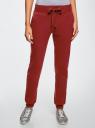 Комплект трикотажных брюк (2 пары) oodji #SECTION_NAME# (разноцветный), 16700030-15T2/47906/19IYN - вид 2