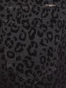 Джинсы slim принтованные oodji для женщины (черный), 12104082/46747/2900A