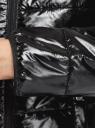 Куртка стеганая с воротником-стойкой oodji для женщины (черный), 10203060-3B/50231/2900N