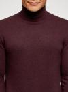 Свитер базовый из хлопка oodji #SECTION_NAME# (красный), 4B312003M-1/34390N/4902M - вид 4