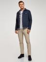Куртка джинсовая на пуговицах oodji #SECTION_NAME# (синий), 6L300011M/35771/7900W - вид 6