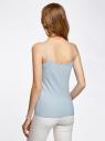 Майка женская (упаковка 2 шт) oodji для женщины (синий), 14305023T2/46147/7000N