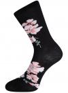 Комплект высоких носков (3 пары) oodji для женщины (разноцветный), 57102902T3/47613/28 - вид 4