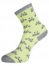 Комплект из трех пар носков oodji #SECTION_NAME# (разноцветный), 57102802-1T3/49668/2 - вид 4
