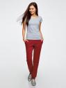 Комплект трикотажных брюк (2 пары) oodji #SECTION_NAME# (разноцветный), 16700030-15T2/47906/19IYN - вид 6