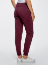 Комплект трикотажных брюк (2 пары) oodji #SECTION_NAME# (разноцветный), 16700030-15T2/47906/19NDN - вид 3