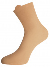 Комплект из трех пар хлопковых носков oodji #SECTION_NAME# (разноцветный), 57102802T3/47469/22 - вид 3