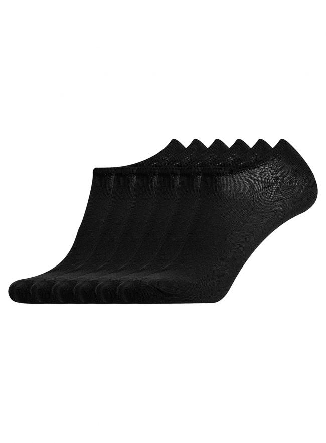 Комплект из шести пар носков oodji для мужчины (черный), 7B261000T6/47469/2900N