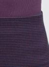 Юбка-трапеция короткая oodji #SECTION_NAME# (фиолетовый), 11600413-4/45930/6E4CG - вид 4