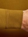 Свитшот базовый хлопковый oodji для мужчины (желтый), 5B113002M/46738N/4B00N