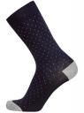 Комплект из трех пар хлопковых носков oodji для мужчины (разноцветный), 7O233000T3/47469/1900Z
