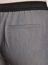Брюки классические со стрелками oodji для женщины (серый), 11706203/38253/2500M