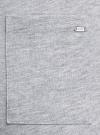 Юбка хлопковая на завязках oodji #SECTION_NAME# (серый), 14101111/46173/2000M - вид 5